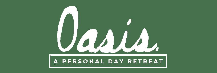 Oasis logo white